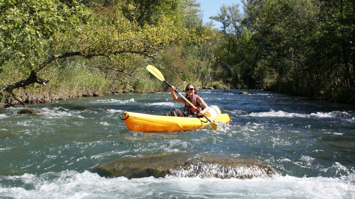 Canoe bike Tallard